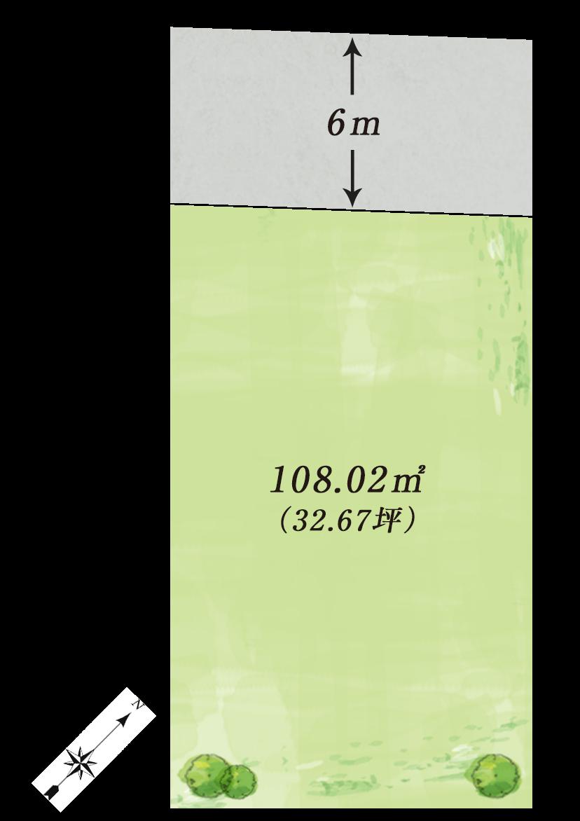 大阪府泉大津市 プレミアタウン二田町 区画図